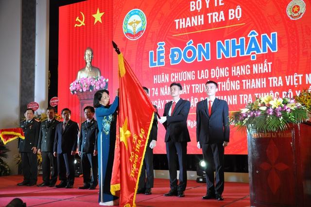 Thanh tra Bộ Y tế đón nhận Huân chương Lao động hạng Nhất - Ảnh 1.