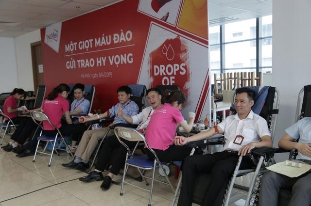 TNG Holdings VietNam tổ chức ngày hội hiến máu - Ảnh 1.