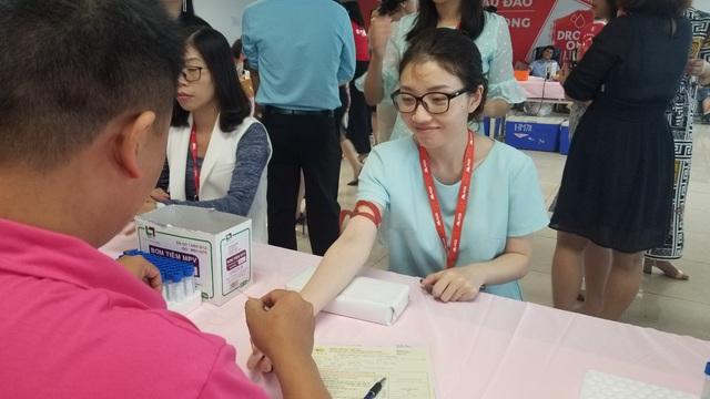 TNG Holdings VietNam tổ chức ngày hội hiến máu - Ảnh 2.