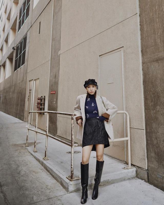 Mỗi kiểu chân váy đều có một đôi boots hoàn hảo để song hành, diện lên xinh ngất ngây và tôn dáng hết cỡ - Ảnh 4.
