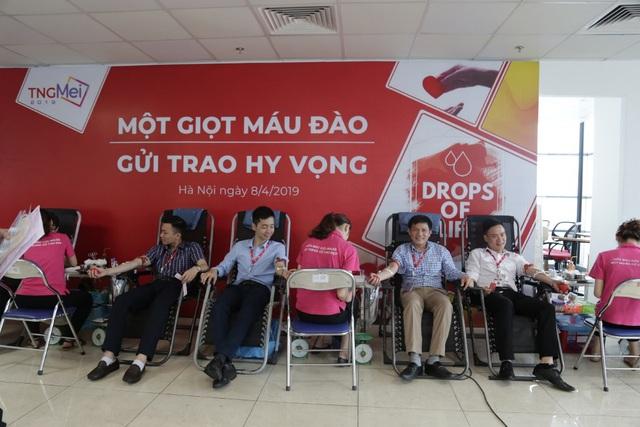 TNG Holdings VietNam tổ chức ngày hội hiến máu - Ảnh 4.