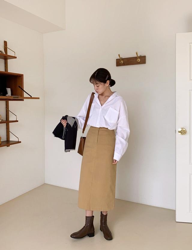 Mỗi kiểu chân váy đều có một đôi boots hoàn hảo để song hành, diện lên xinh ngất ngây và tôn dáng hết cỡ - Ảnh 8.