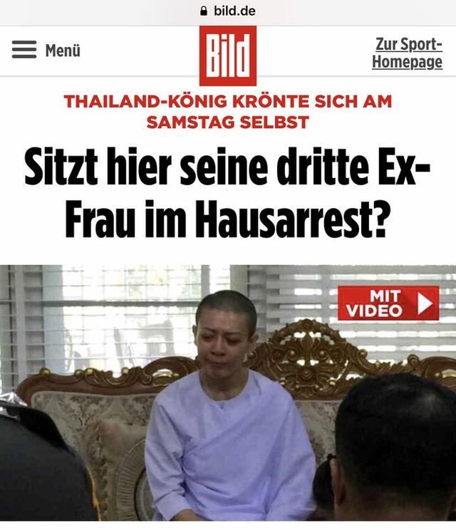 Rò rỉ hình ảnh cựu Vương phi Thái Lan sau khi bị phế truất - Ảnh 2.