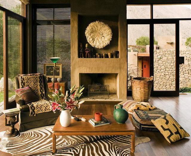 Nhà gỗ đất sét ngoài nhìn đơn giản trong có vẻ đẹp gây nghiện - Ảnh 9.