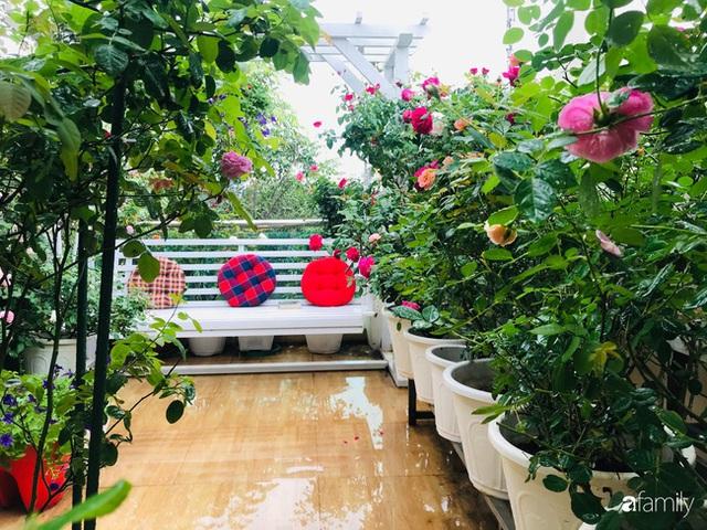 Ngày 20/11 ghé thăm vườn hồng trên sân thượng khoe sắc rực rỡ của cô giáo dạy nhạc xứ Thanh - Ảnh 16.
