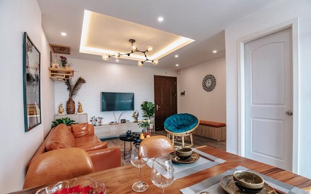 Căn hộ màu xanh với thiết kế đẳng cấp như không gian châu Âu trong lòng Hà Nội dành cho gia đình 3 thế hệ - Ảnh 2.