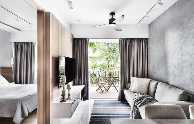 Căn hộ 36m² phong cách Scandinavian truyền cảm hứng cho người nhìn, khu vực vệ sinh thiết kế đẹp lạ - Ảnh 2.