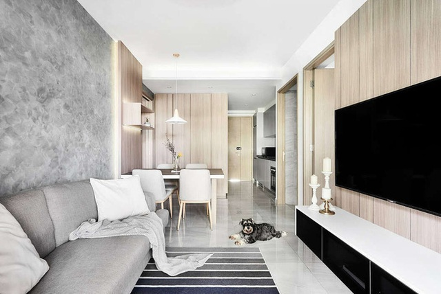 Căn hộ 36m² phong cách Scandinavian truyền cảm hứng cho người nhìn, khu vực vệ sinh thiết kế đẹp lạ - Ảnh 3.