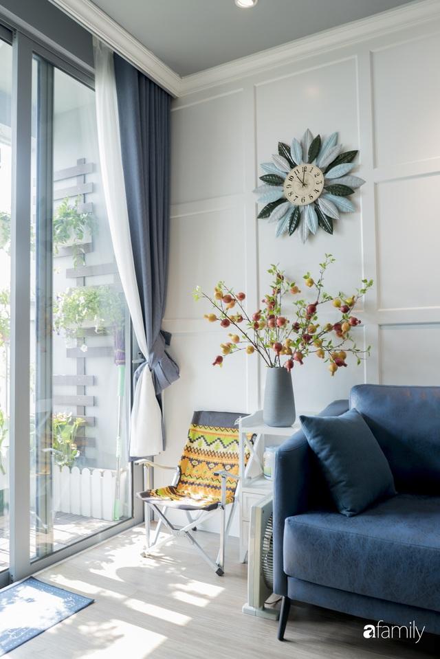 Căn hộ màu xanh với thiết kế đẳng cấp như không gian châu Âu trong lòng Hà Nội dành cho gia đình 3 thế hệ - Ảnh 12.