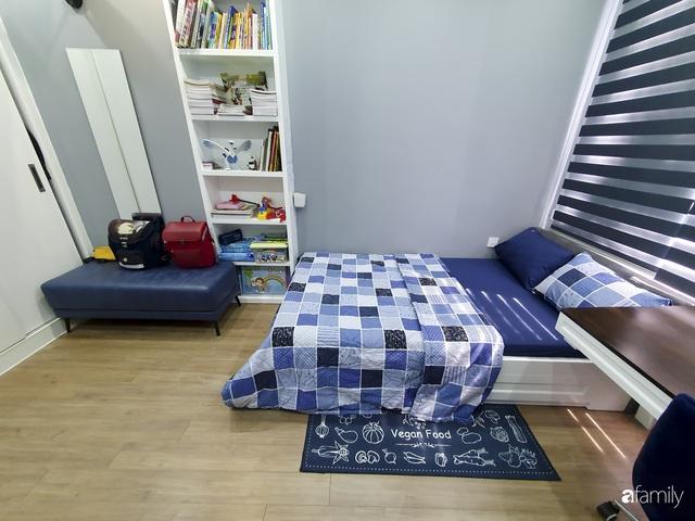 Căn hộ màu xanh với thiết kế đẳng cấp như không gian châu Âu trong lòng Hà Nội dành cho gia đình 3 thế hệ - Ảnh 17.