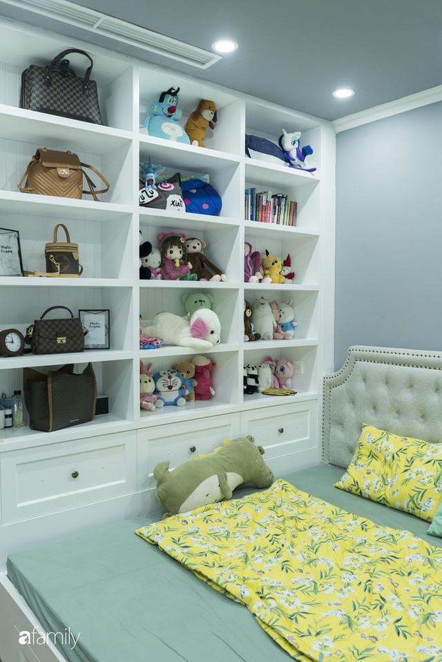 Căn hộ màu xanh với thiết kế đẳng cấp như không gian châu Âu trong lòng Hà Nội dành cho gia đình 3 thế hệ - Ảnh 20.
