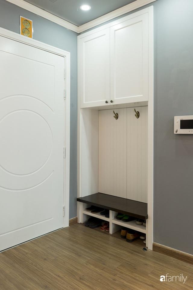 Căn hộ màu xanh với thiết kế đẳng cấp như không gian châu Âu trong lòng Hà Nội dành cho gia đình 3 thế hệ - Ảnh 4.