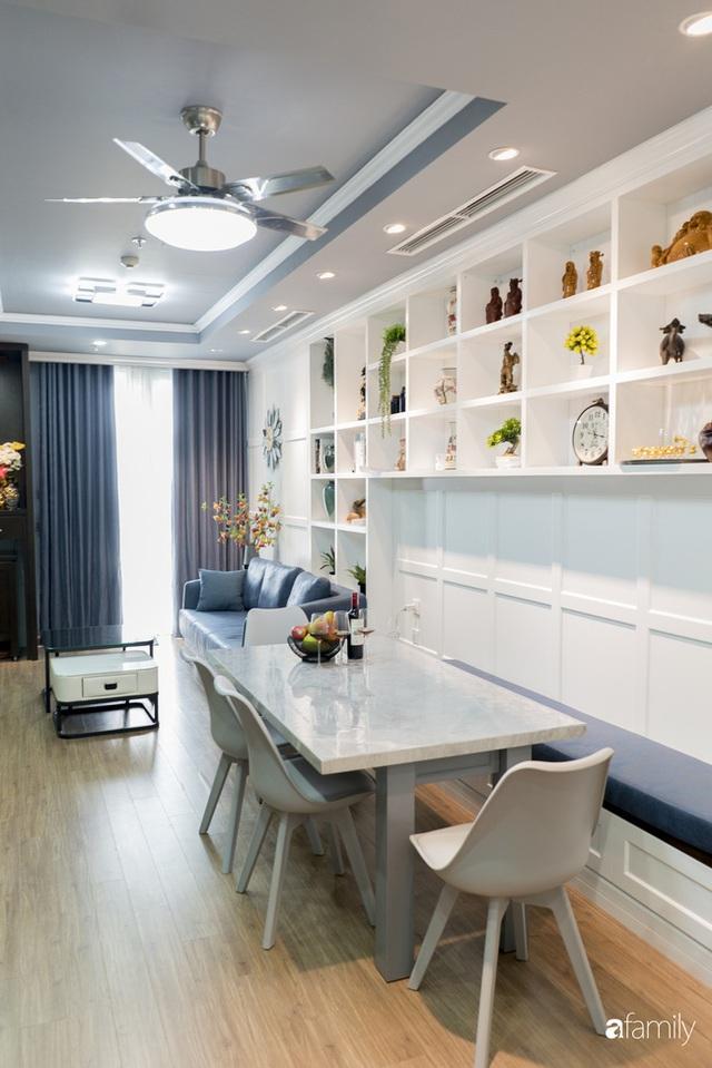 Căn hộ màu xanh với thiết kế đẳng cấp như không gian châu Âu trong lòng Hà Nội dành cho gia đình 3 thế hệ - Ảnh 6.