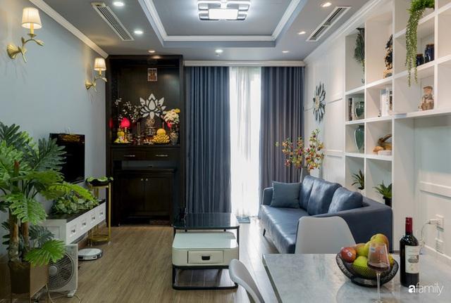 Căn hộ màu xanh với thiết kế đẳng cấp như không gian châu Âu trong lòng Hà Nội dành cho gia đình 3 thế hệ - Ảnh 8.