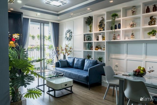 Căn hộ màu xanh với thiết kế đẳng cấp như không gian châu Âu trong lòng Hà Nội dành cho gia đình 3 thế hệ - Ảnh 9.