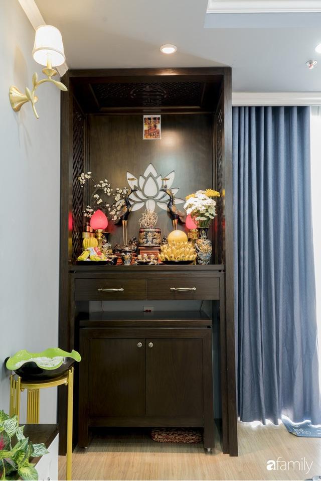 Căn hộ màu xanh với thiết kế đẳng cấp như không gian châu Âu trong lòng Hà Nội dành cho gia đình 3 thế hệ - Ảnh 10.