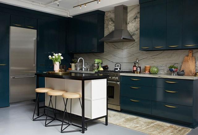 9 nhà bếp nhỏ vẫn có góc ăn đáng yêu, xinh xắn nhờ cách thiết kế thông minh - Ảnh 10.