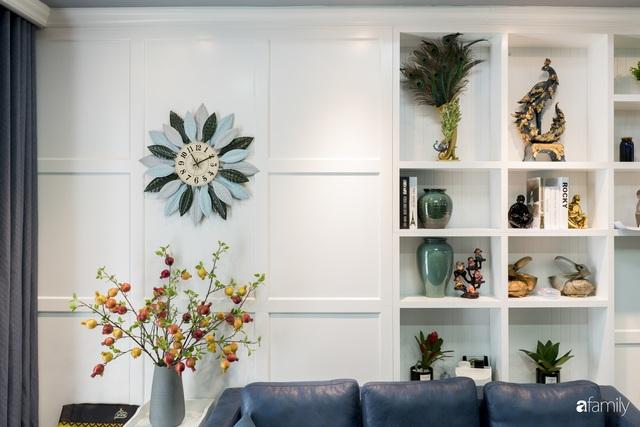 Căn hộ màu xanh với thiết kế đẳng cấp như không gian châu Âu trong lòng Hà Nội dành cho gia đình 3 thế hệ - Ảnh 11.