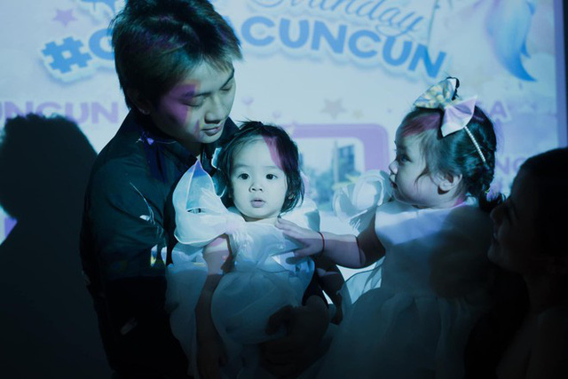 Hai con gái siêu đáng yêu của Hoài Lâm - Ảnh 2.