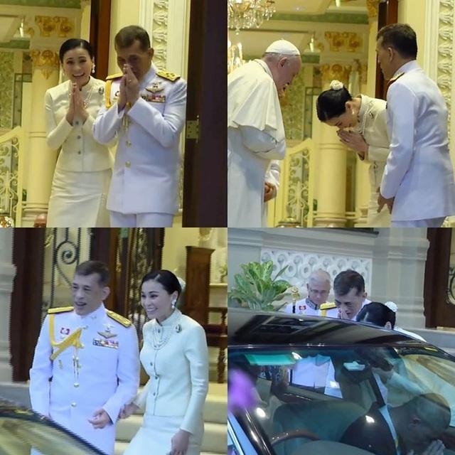 Hoàng hậu Thái Lan xuất hiện rạng rỡ, cười không ngớt bên cạnh Quốc vương Thái Lan sau sóng gió hậu cung trong sự kiện mới nhất - Ảnh 5.