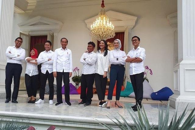 Tổng thống Indonesia có nữ cố vấn 23 tuổi  - Ảnh 1.