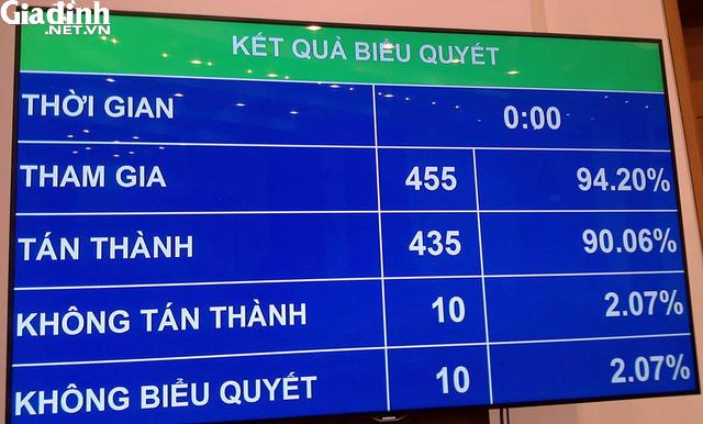 90,06% đại biểu tán thành, Quốc hội thông qua Nghị quyết Dự án Xây dựng sân bay Long Thành giai đoạn 1 - Ảnh 2.