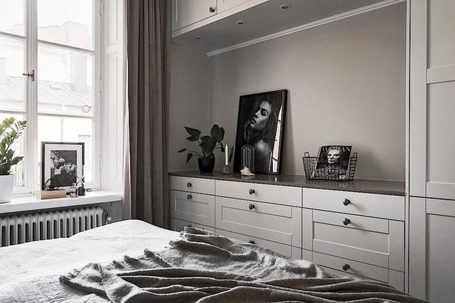 Căn hộ rộng 62m² sử dụng màu trắng là chủ yếu nhưng chẳng hề nhàm chán nhờ cách trang trí có tính thẩm mỹ cao - Ảnh 13.