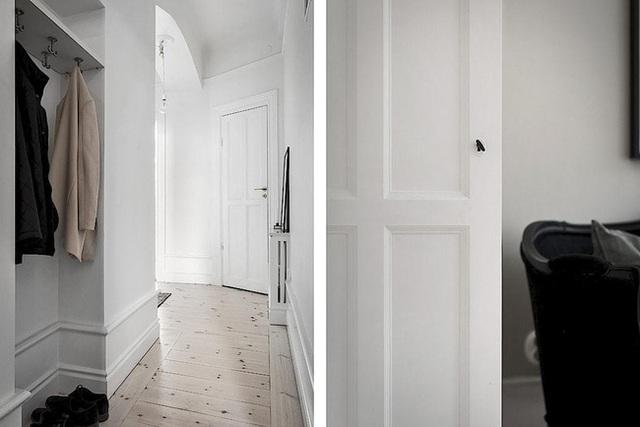 Căn hộ rộng 62m² sử dụng màu trắng là chủ yếu nhưng chẳng hề nhàm chán nhờ cách trang trí có tính thẩm mỹ cao - Ảnh 15.