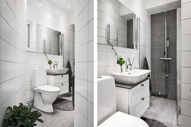 Căn hộ rộng 62m² sử dụng màu trắng là chủ yếu nhưng chẳng hề nhàm chán nhờ cách trang trí có tính thẩm mỹ cao - Ảnh 16.