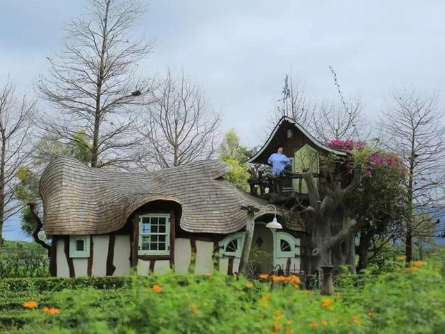 Người phụ nữ 60 tuổi dùng khoản tiền tiết kiệm trong 12 năm để mua đất, xây ngôi nhà cổ tích an hưởng tuổi già cùng người thân - Ảnh 20.