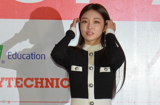 Quốc Trường, Bảo Thanh dự thảm đỏ cùng hàng trăm sao Hàn ở Mỹ Đình - Ảnh 7.
