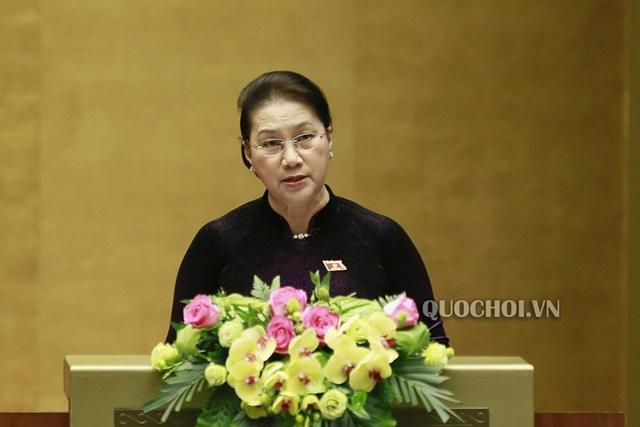 Phát biểu bế mạc Kỳ họp thứ 8, Quốc hội khóa XIV của Chủ tịch Quốc hội Nguyễn Thị Kim Ngân - Ảnh 1.