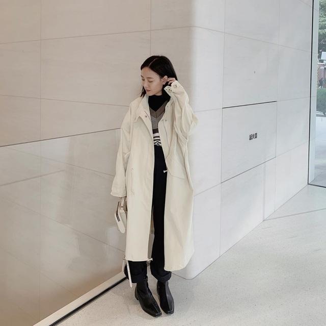 Trời chuyển lạnh, chị em cần trau dồi ngay 4 tips diện áo khoác giúp vóc dáng như gầy đi vài kilogram - Ảnh 5.
