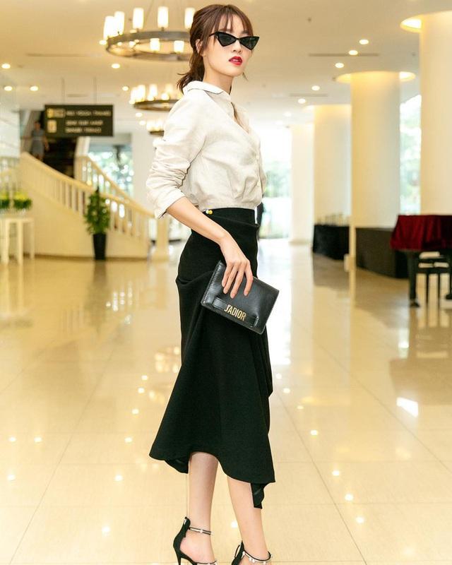 Ninh Dương Lan Ngọc gợi ý 10 set đồ chuẩn đẹp cho nàng công sở - Ảnh 9.