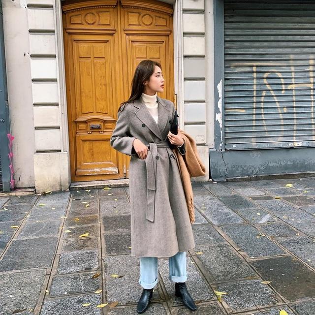 Trời chuyển lạnh, chị em cần trau dồi ngay 4 tips diện áo khoác giúp vóc dáng như gầy đi vài kilogram - Ảnh 9.