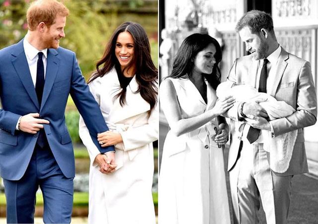 Vợ chồng Meghan Markle và Hoàng tử Harry kỷ niệm 2 năm công bố đính hôn - Ảnh 2.