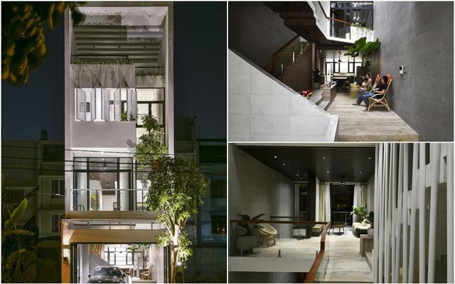 Được xây trên mảnh đất hóp hậu rất nhiều khiếm khuyết nhưng ngôi nhà ống ở phố Hàn Thuyên, Hà Nội vẫn đẹp lôi cuốn - Ảnh 2.