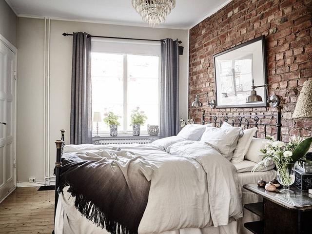 Nhấn nhá đan xen giữa yếu tố cổ điển và hiện đại, căn hộ 73m² hiện lên với vẻ đẹp như một bức tranh đồng quê êm đềm - Ảnh 12.