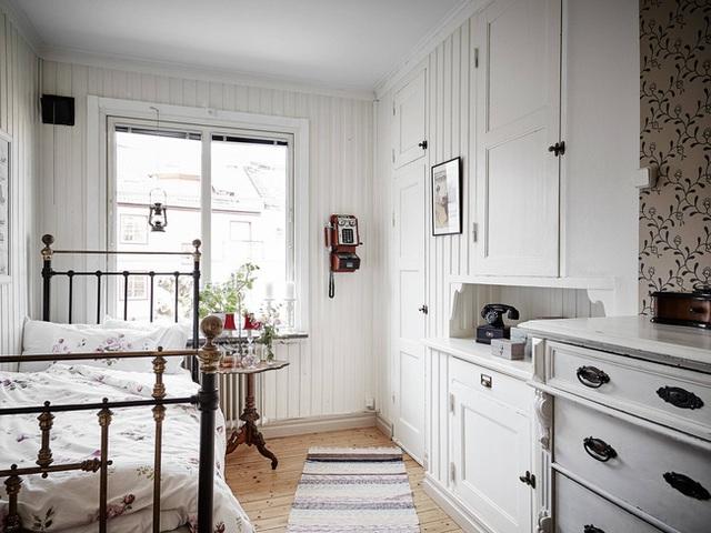 Nhấn nhá đan xen giữa yếu tố cổ điển và hiện đại, căn hộ 73m² hiện lên với vẻ đẹp như một bức tranh đồng quê êm đềm - Ảnh 19.