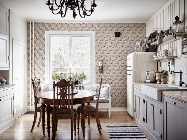 Nhấn nhá đan xen giữa yếu tố cổ điển và hiện đại, căn hộ 73m² hiện lên với vẻ đẹp như một bức tranh đồng quê êm đềm - Ảnh 4.