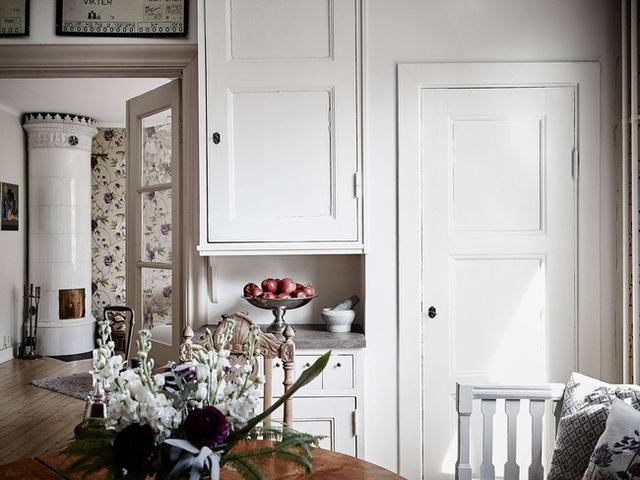 Nhấn nhá đan xen giữa yếu tố cổ điển và hiện đại, căn hộ 73m² hiện lên với vẻ đẹp như một bức tranh đồng quê êm đềm - Ảnh 5.