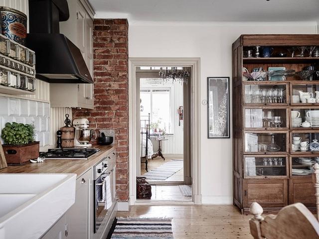 Nhấn nhá đan xen giữa yếu tố cổ điển và hiện đại, căn hộ 73m² hiện lên với vẻ đẹp như một bức tranh đồng quê êm đềm - Ảnh 7.