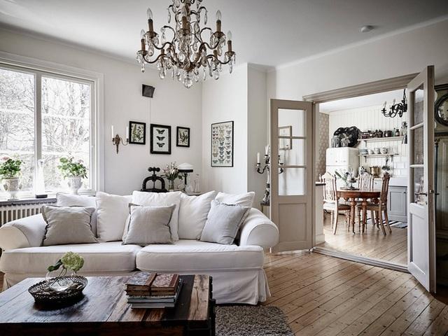 Nhấn nhá đan xen giữa yếu tố cổ điển và hiện đại, căn hộ 73m² hiện lên với vẻ đẹp như một bức tranh đồng quê êm đềm - Ảnh 8.