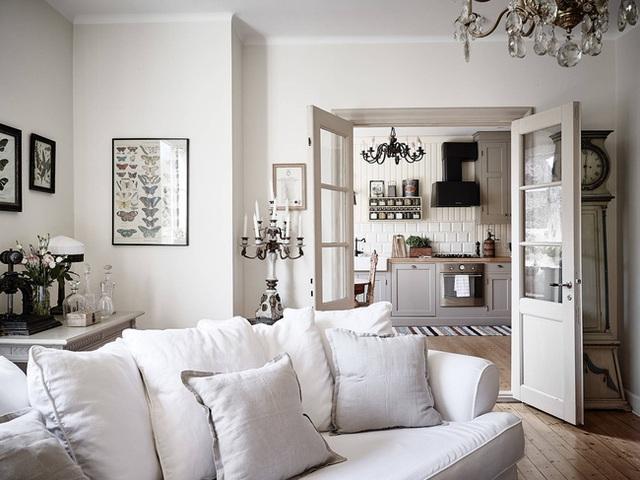 Nhấn nhá đan xen giữa yếu tố cổ điển và hiện đại, căn hộ 73m² hiện lên với vẻ đẹp như một bức tranh đồng quê êm đềm - Ảnh 9.