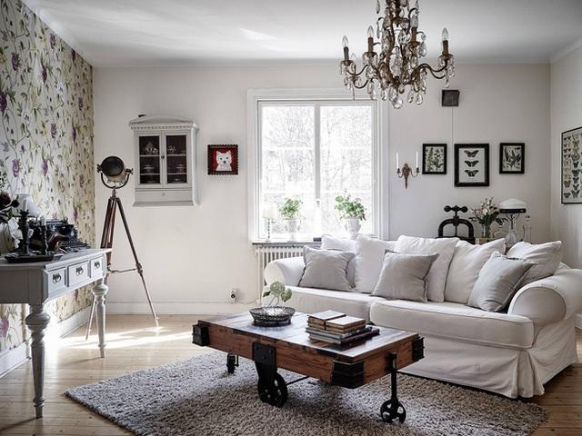 Nhấn nhá đan xen giữa yếu tố cổ điển và hiện đại, căn hộ 73m² hiện lên với vẻ đẹp như một bức tranh đồng quê êm đềm - Ảnh 10.