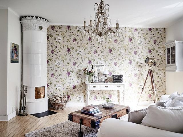 Nhấn nhá đan xen giữa yếu tố cổ điển và hiện đại, căn hộ 73m² hiện lên với vẻ đẹp như một bức tranh đồng quê êm đềm - Ảnh 11.