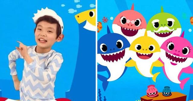 Gia đình Hàn Quốc kiếm 125 triệu USD nhờ bài hát Baby Shark - Ảnh 1.