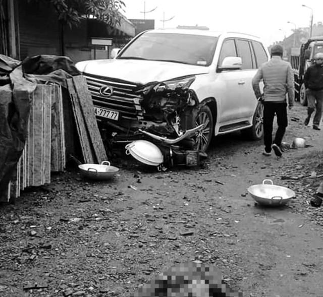 Xác định danh tính tài xế điều khiển xe Lexus biển ngũ quý đâm chết người ở Hà Nội - Ảnh 1.