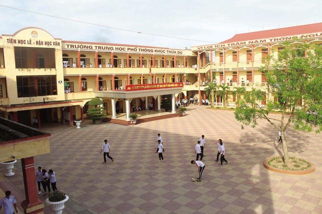Trường THPT Khúc Thừa Dụ: Vươn mình khẳng định vị thế - Ảnh 1.