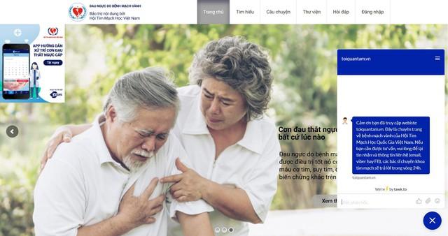 Hội tim mạch học Việt Nam thành lập đơn vị hỗ trợ thông tin cho người mắc bệnh động mạch vành  - Ảnh 1.